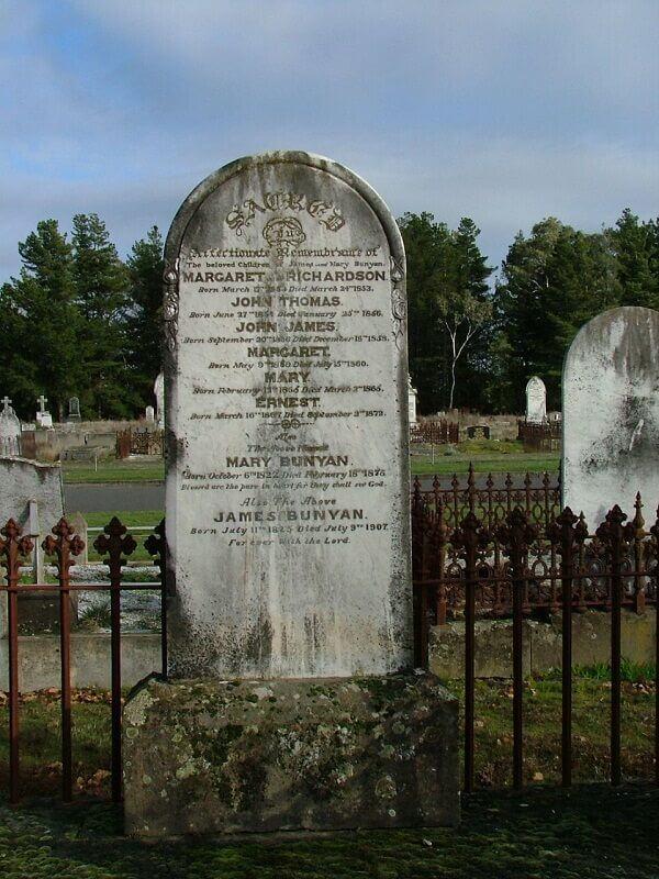 Margaret Thomas Bunyan and John Thomas Bunyan
